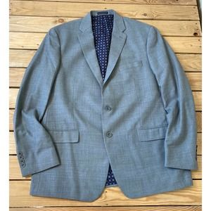 New HART SCHAFFNER MARX Wool Button Up Suit Jacket